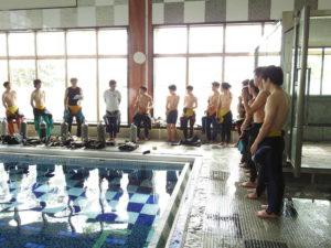○o。.プールダイビング演習.。o○